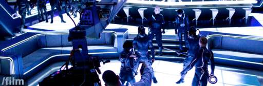 New Images From the Tron Legacy Set