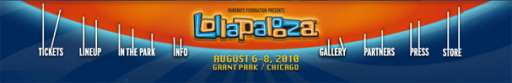 Who's Playing Lollapalooza? Only Time Will Tell