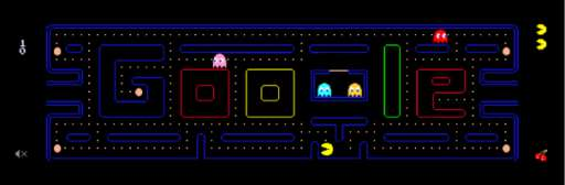 Pac-Man Anniversary Brings Best Google Doodle Ever