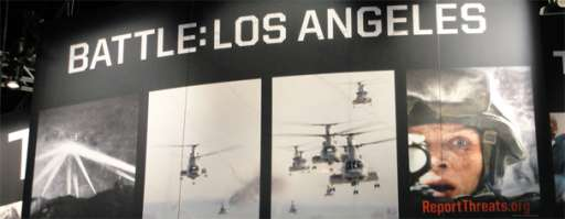 Battle: Los Angeles – Classic Sony Viral At Comic-Con
