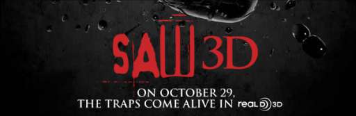 "Latest Saw 3D Motion Poster Is ""Heart-Pounding"""