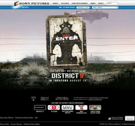 District 9 Official Site Walkthrough