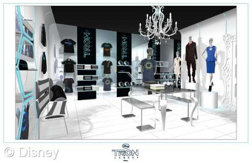 """TRON: Legacy"" Shop Opens In Los Angeles For Limited Time"