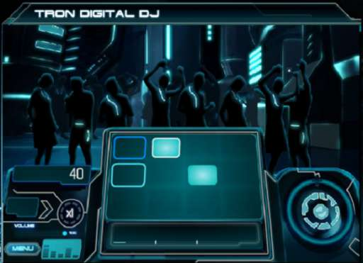 TRON: Legacy Behind the Scenes Footage and Online Games