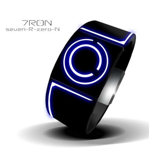 Check Out This Tron-Inspired LED Watch