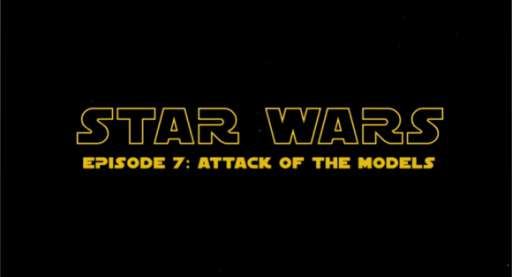 "Viral Video: ""Star Wars – Attack of the Models!"""