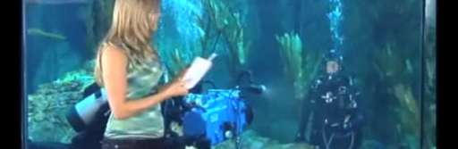 "James Cameron Interviewed Underwater for ""Sanctum"""