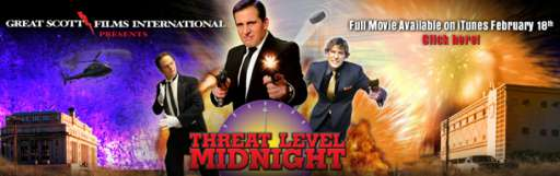 """Threat Level Midnight"" Website Goes Live After Latest 'The Office' Episode"