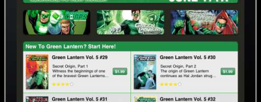 "DC Entertainment Launches ""Green Lantern"" App"