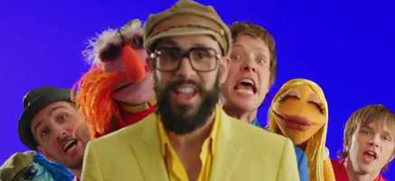 "Ok Go Covers ""The Muppets"" Theme Song"
