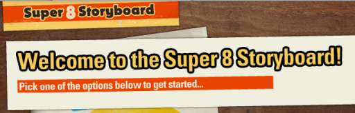 "You Can Storyboard ""Super 8"""