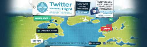 "Twitter Powers Flight for ""Pan Am"""