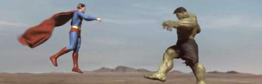 Watch the Hulk and Superman Fight Each Other In Fan-Made Video Series