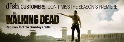 "AMC Offers DISH Customers Live Stream of ""The Walking Dead"" Season 3 Premiere"