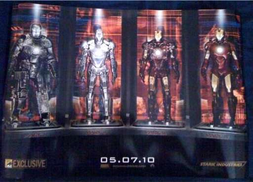 MovieViral Social Network Contest: Win an Iron Man 2 Comic-Con Poster!
