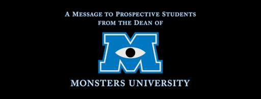 """Watch A Message From the Dean of """"Monsters University"""""""