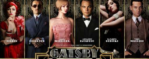 "Character Posters for ""The Great Gatsby"" Released on Facebook In Preparation for New Trailer"