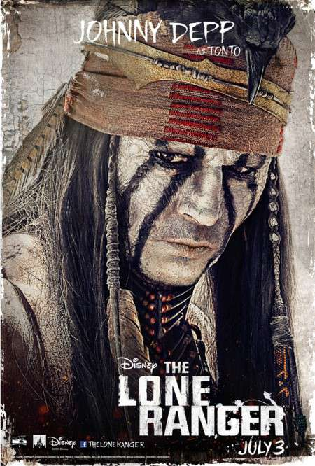 "New Character Posters And Final Trailer Gallop Onto The Web For ""The Lone Ranger"""