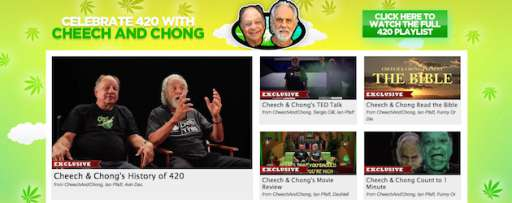 Cheech and Chong Take Over FunnyorDie.com for 420