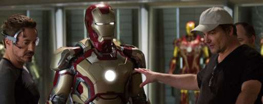 """Iron Man 3"" Interview: Shane Black On Christmas, Not Using the F-Word, & Reuniting With Robert Downey Jr."