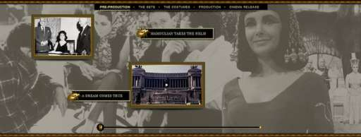 "Learn More About ""Cleopatra"" in Interactive Timeline"