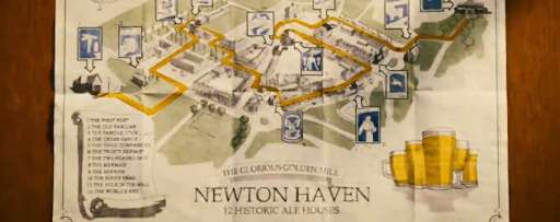 """Learn About Newton Haven's Infamous Pub Crawl in """"The World's End"""" Viral Video"""