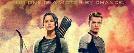 """The Hunger Games: Catching Fire"" Marketing Uses Twitter To Reveal Victory Banners"