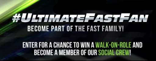 "Prove You Are The Ultimate Fast Fan To Win A Walk On Role For ""Fast & Furious 7″"