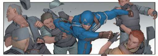"Marvel Releases First ""Captain America: The Winter Soldier Prelude"" Comic"