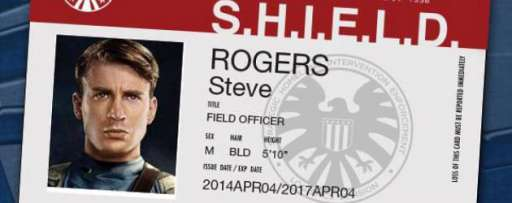 "Oddly Timed ""Captain America"" Promotion Offers You A S.H.I.E.L.D. Badge For Free"