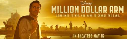 "Win A $1 Million If You Throw 100 MPH At Disney's ""Million Dollar Arm"" Pitching Contest"