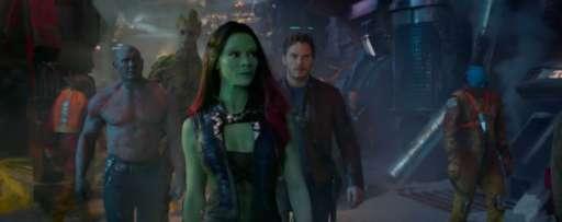 "Second ""Guardians Of The Galaxy Trailer"" Starring Chris Pratt And Zoe Saldana"