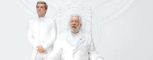 """The Hunger Games: Mockingjay Part 1″ Viral Video: Watch Presdient Snow Give Panem An Important Message"