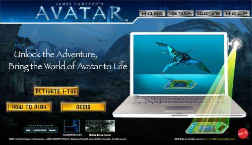 Buy Avatar Toys, Get Some Content