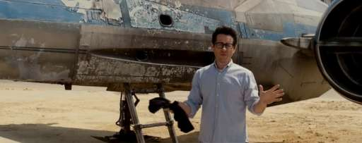 J.J. Abrams Reveals New X-Wing In New 'Star Wars Episode VII' Video