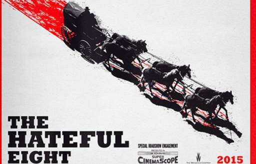 "Quentin Tarantino's ""The Hateful Eight"" Trailer Will Debut With ""Sin City 2""; Will Not Be Available Online"