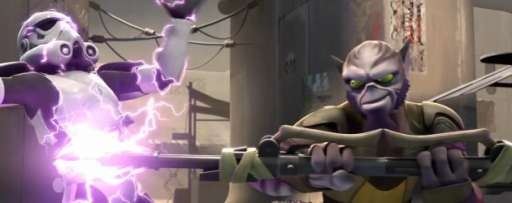 "Watch: Zeb Fights Stormtroopers In 'Star Wars Rebels' Short ""Entanglement"""