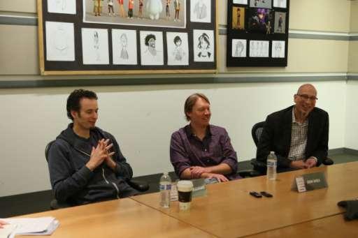 """Big Hero 6"" Directors Don Hall & Chris Williams Talk Disney's First Marvel Comics Inspired Film"