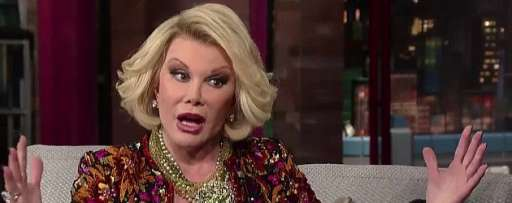 Joan Rivers Dies At The Age Of 81