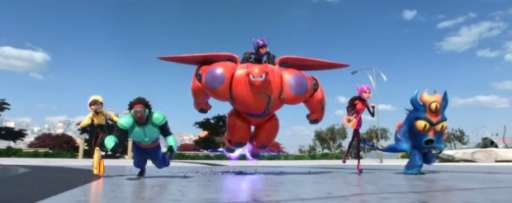 Watch The 'Big Hero 6' Sizzle Reel Shown At NYCC