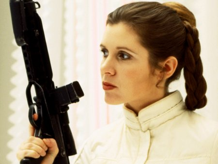 CARRIE FISHER STRIKES BACK FORCE AWAKENS BREAKS RECORDS AND OTHER STAR WARS NEWS