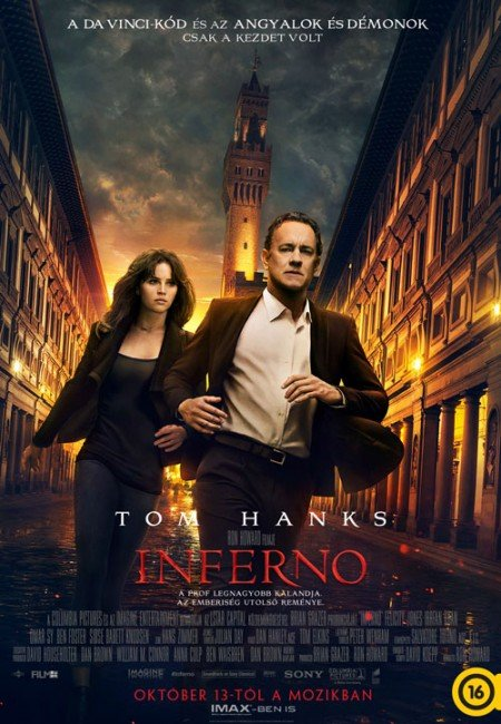 Inferno burns onto screen with inventive opening but leads Hanks and Howard to unworthy wastes of their talent