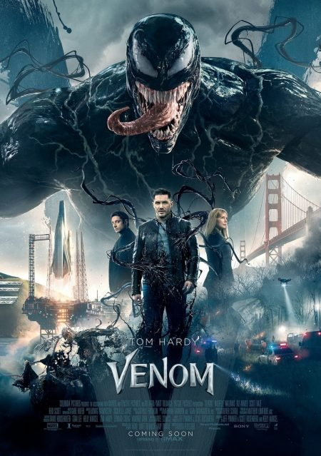 ARE we VENOM? Yes We are. Tom Hardy Stars in a Fun, Fantastical, Ruddy Good Romp. Perfect Symbiosis!