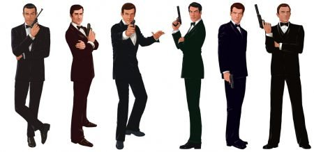 The REAL Lost Adventures of James Bond.