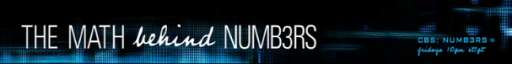 Learn the Math Behind CBS Show Numb3rs