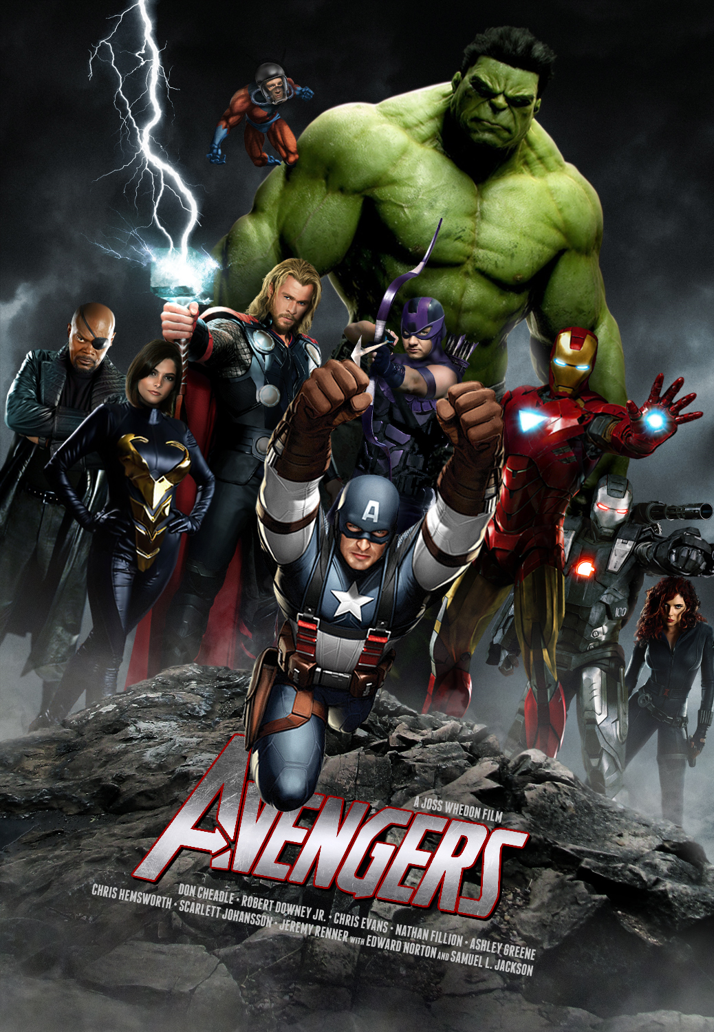 another awesome avengers fan poster
