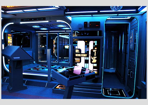 Check It Out Star Trek Themed Apartment