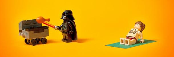 Viral Bits Lego Star Wars Directors Street Art Simon Pegg Save