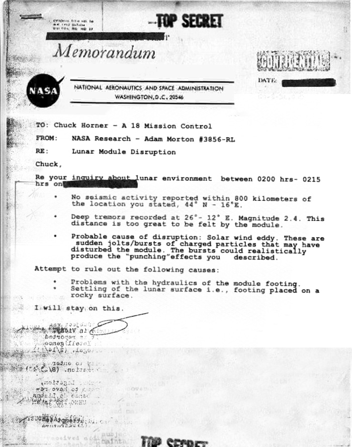documents about the moon landing - photo #23