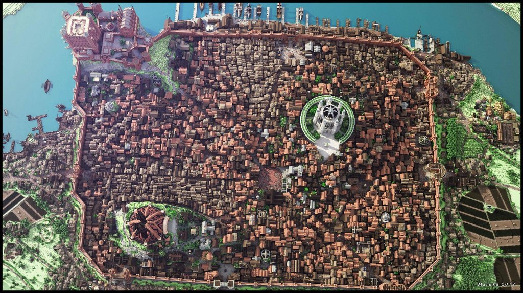Kings landing from game of thrones recreated in detail on